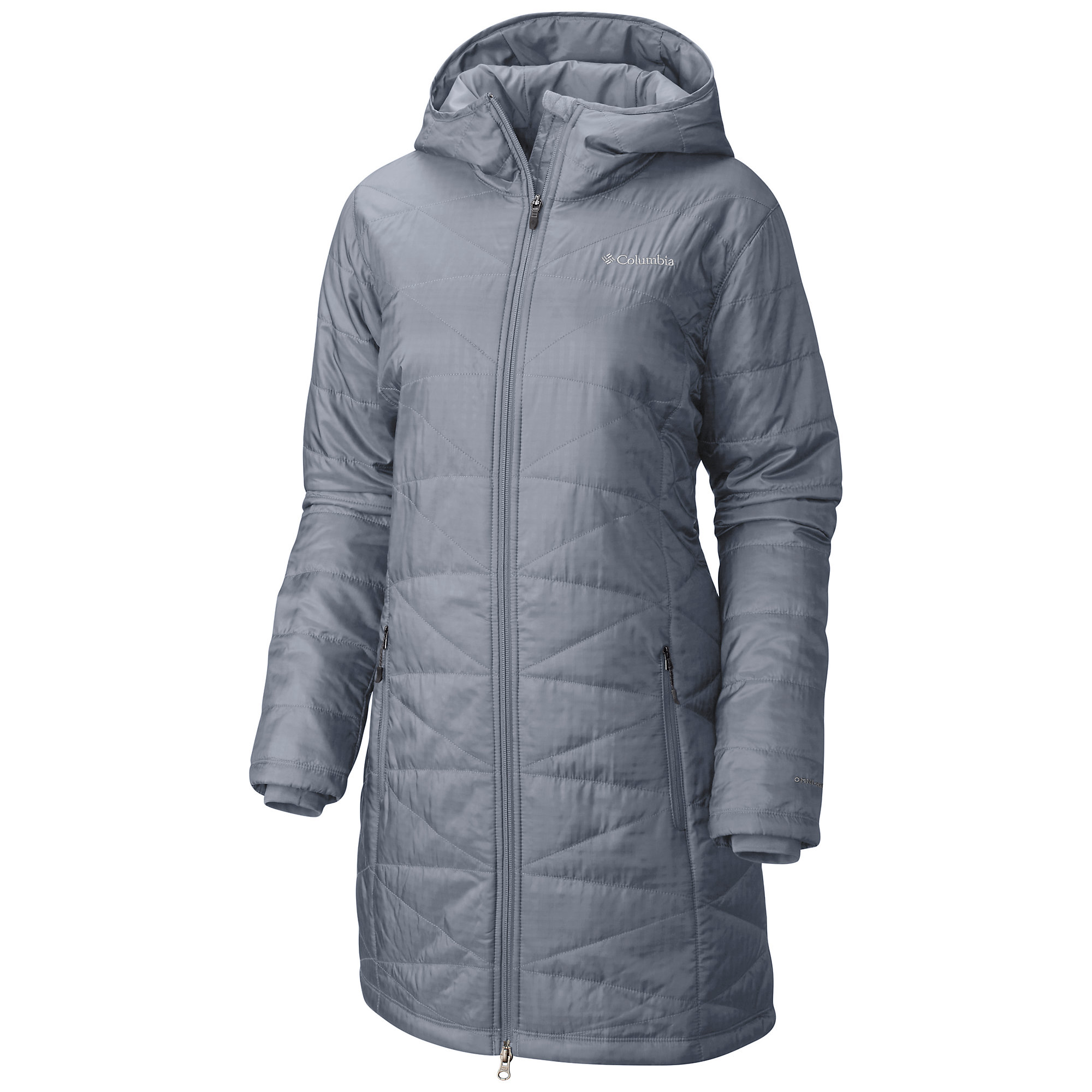 photo: Columbia Women's Mighty Lite Hooded Jacket synthetic insulated jacket
