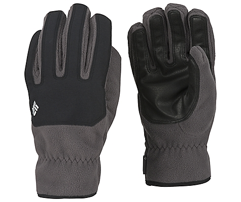photo: Columbia Men's Mount Snow Glove fleece glove/mitten