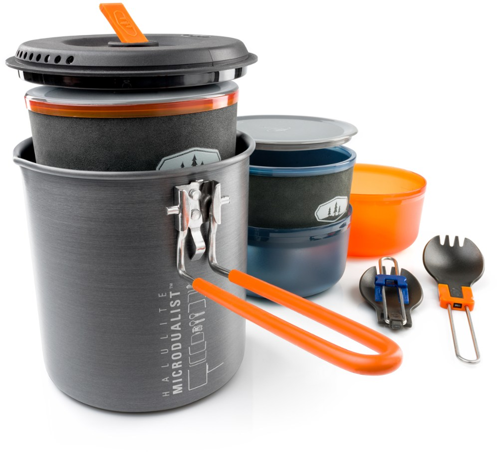 photo: GSI Outdoors Halulite Microdualist Cookset pot/pan