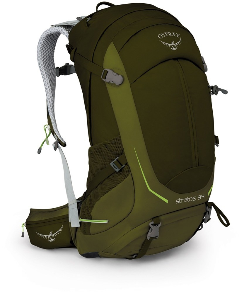 photo: Osprey Stratos 34 overnight pack (35-49l)