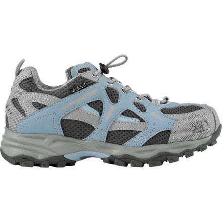 photo: The North Face Girls' Hedgehog WP trail shoe
