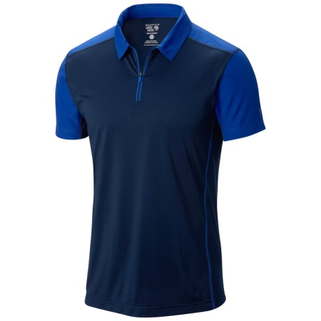 Mountain Hardwear Justo Trek Zip Polo Shirt