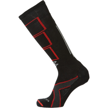 photo: Lorpen Tri Layer Light Ski Sock snowsport sock