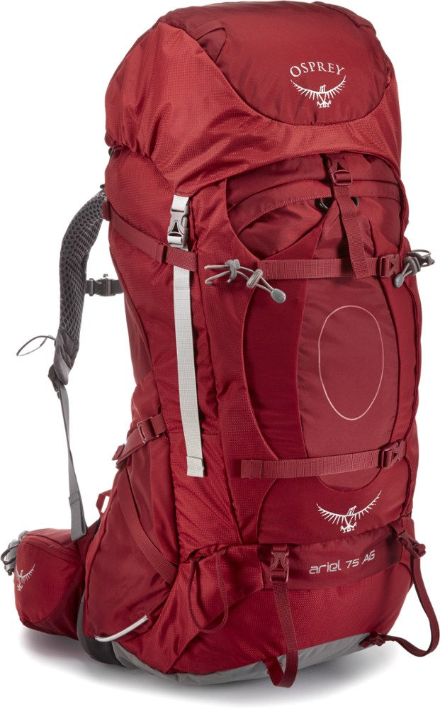photo: Osprey Ariel AG 75 expedition pack (70l+)