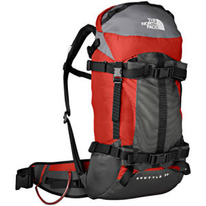 photo: The North Face Shuttle 30 daypack (under 2,000 cu in)