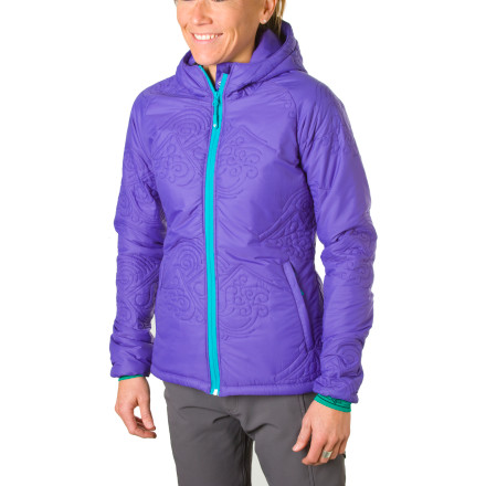 photo: Stoic Women's Luft Hoody Insulated Sweater synthetic insulated jacket