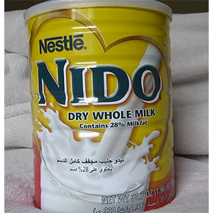photo:   Nestle NIDO Dry Whole Milk drink