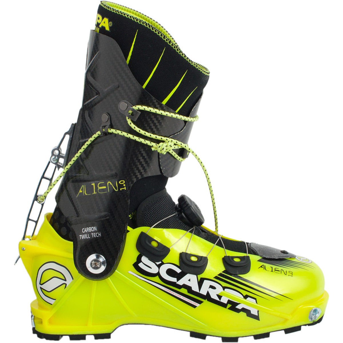 photo: Scarpa Alien 1.0 alpine touring boot