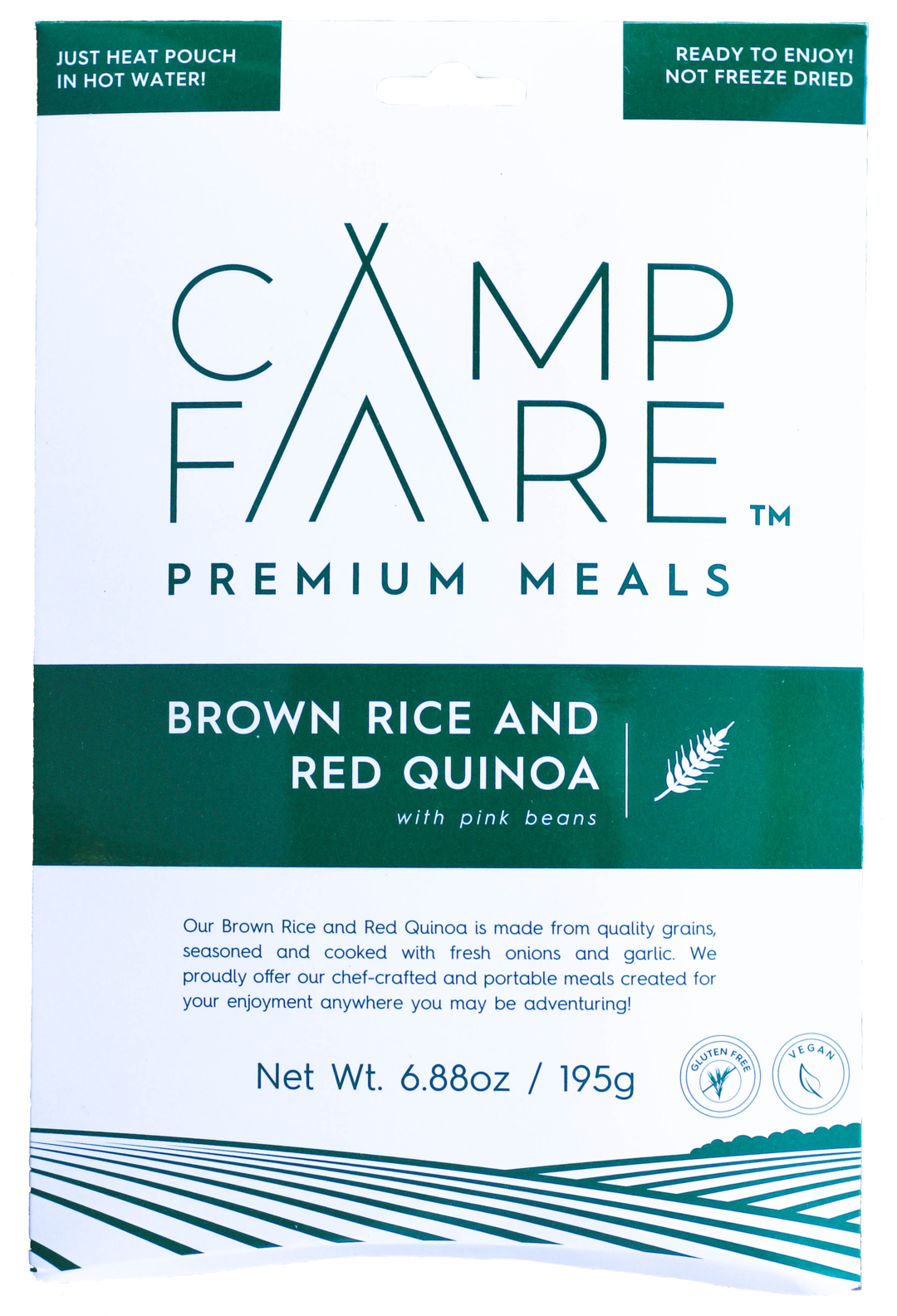CampFare Brown Rice and Red Quinoa