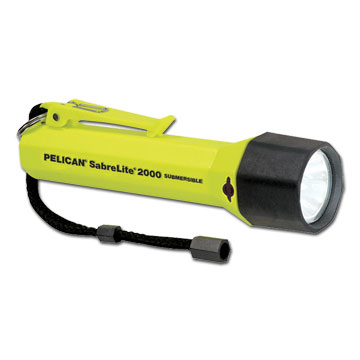 photo: Pelican Super SabreLite flashlight