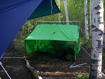 C&fire-Tent.jpg & Churchill River Canoe Outfitters Nylon Campfire Tent 5x7 Reviews ...