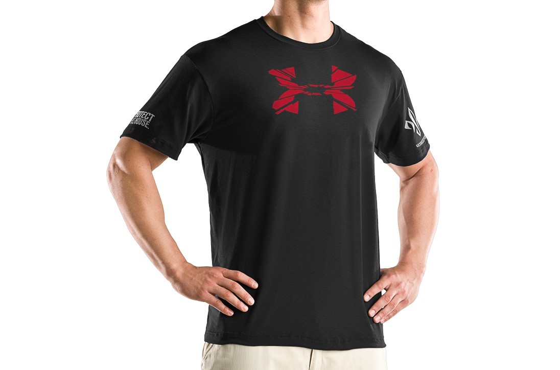Under Armour GSP Explosive Big Logo Graphic T Shirt