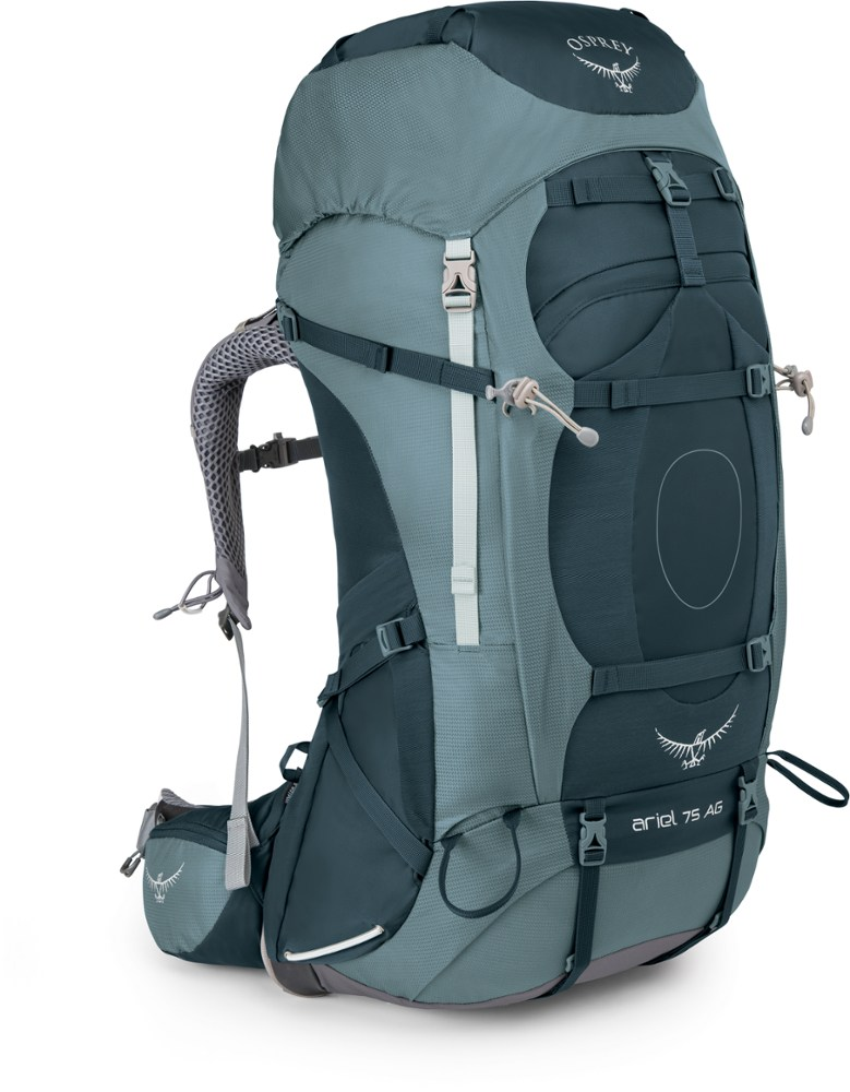 photo: Osprey Ariel AG 75 expedition pack (4,500+ cu in)