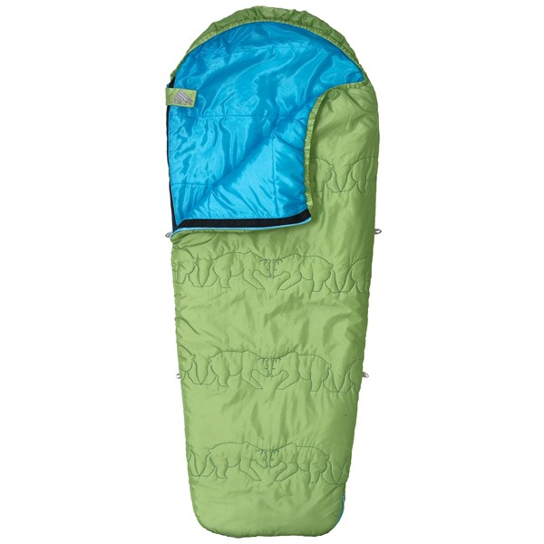 photo: Kelty Little Dipper 40° Junior warm weather synthetic sleeping bag