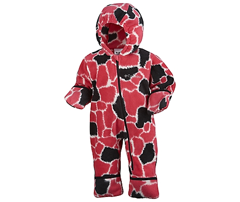 photo: Columbia Girls' Snowtop Bunting II kids' snowsuit/bunting