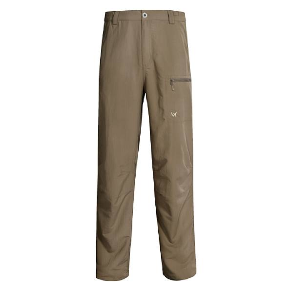 White Sierra Wicking Comfort Fit Pants