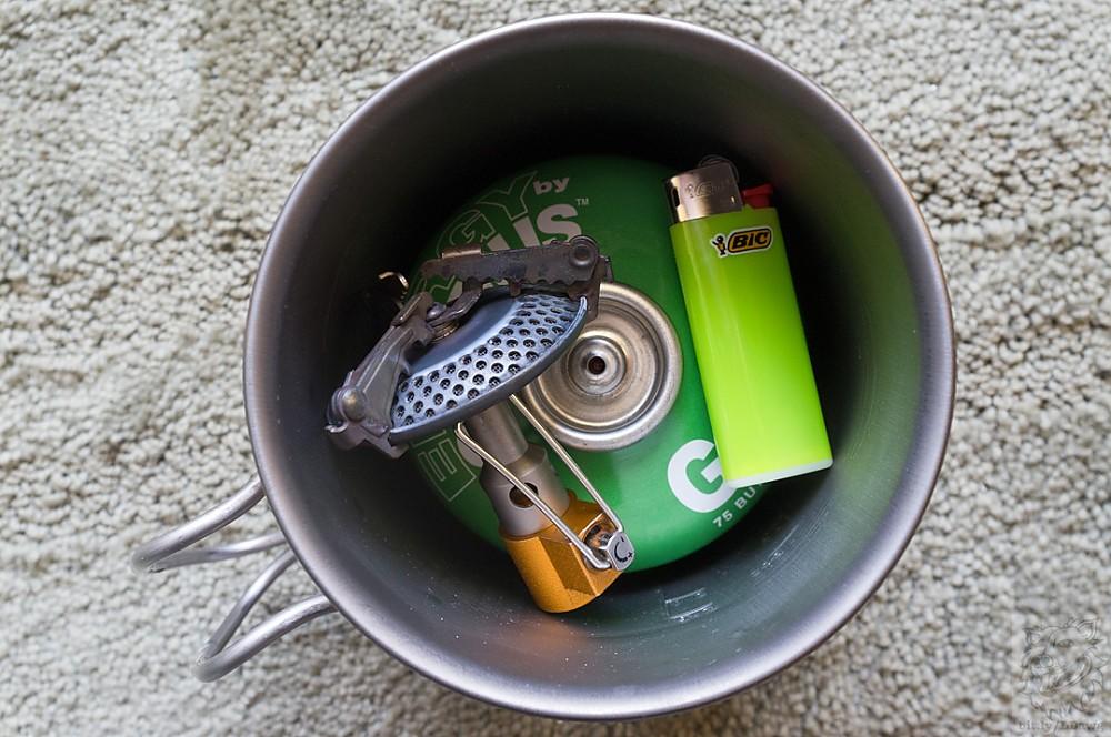 photo: Monatauk Gnat Titanium Stove compressed fuel canister stove