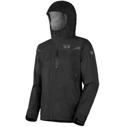 photo: Mountain Hardwear Men's Stretch Cohesion Jacket waterproof jacket