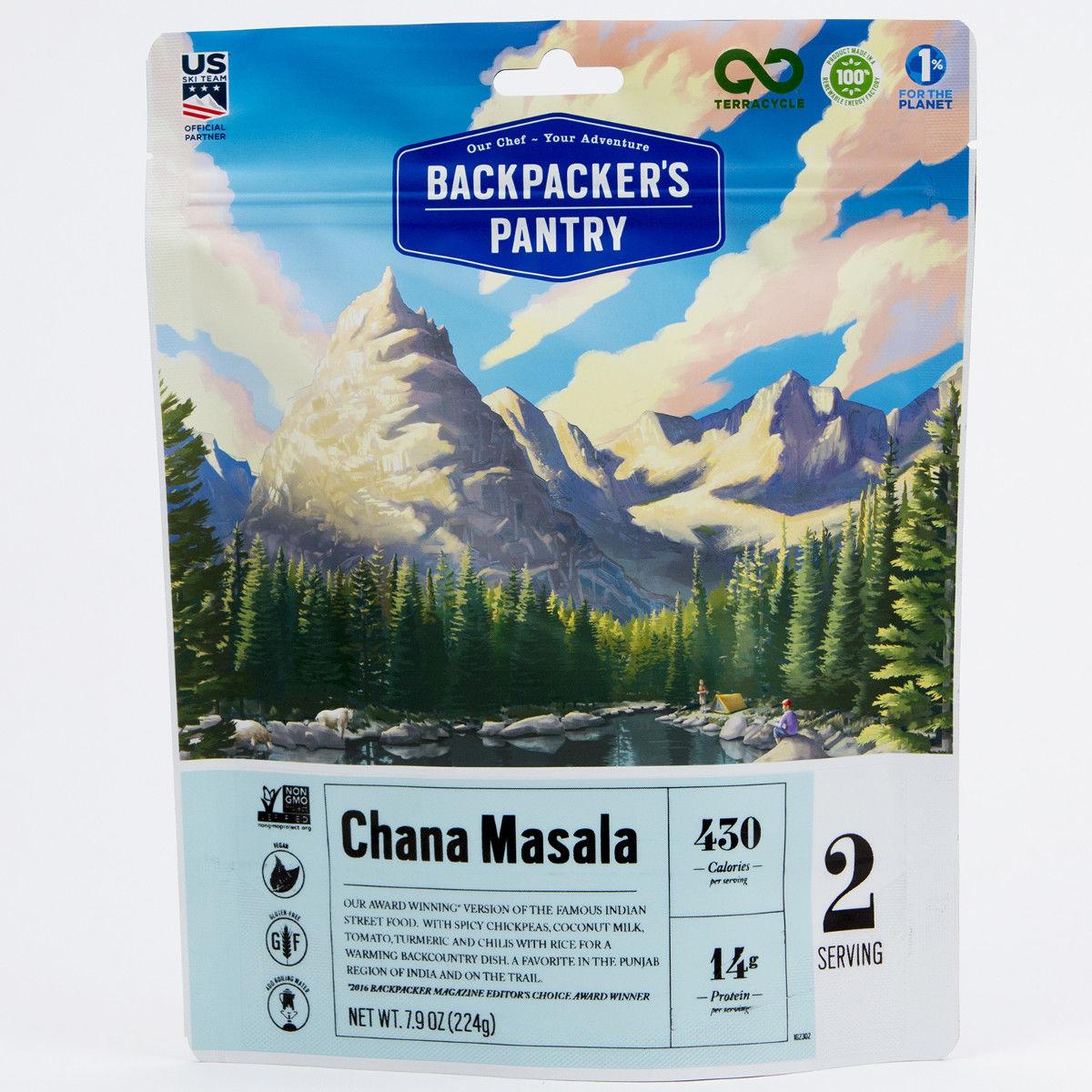 photo: Backpacker's Pantry Chana Masala vegetarian entrée