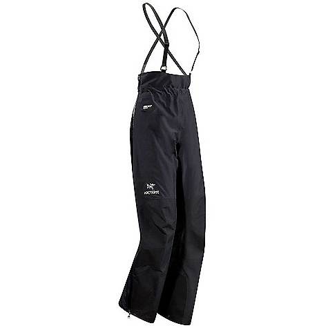 photo: Arc'teryx Women's Alpha LT 1/2 Bib waterproof pant