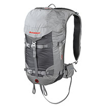 photo: Mammut Light Protection Airbag Ready avalanche airbag pack