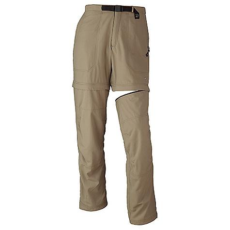 photo: Mountain Hardwear Convertible Pack Pant hiking pant