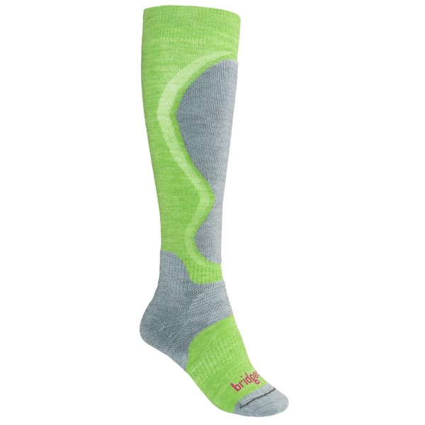 photo: Bridgedale Men's Lightweight Control Fit snowsport sock