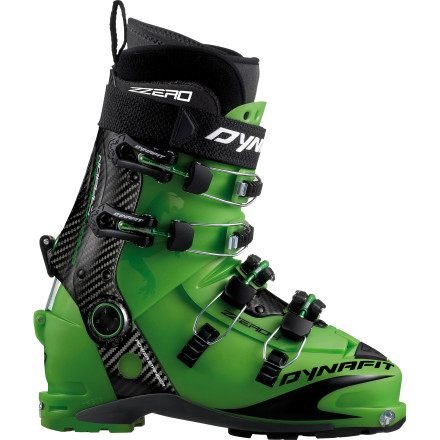 photo: Dynafit ZZero 4 Green Machine TF alpine touring boot