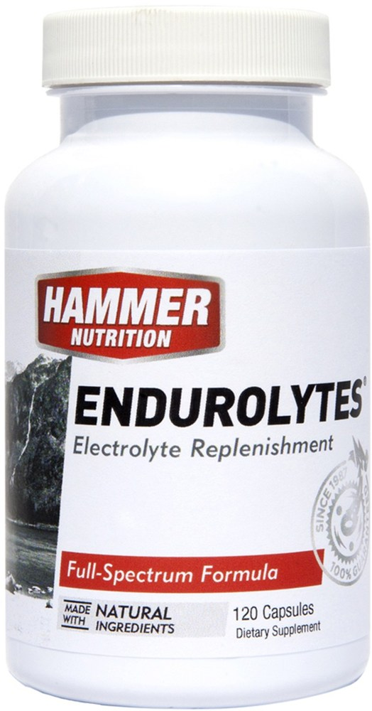 photo: Hammer Nutrition Endurolytes drink