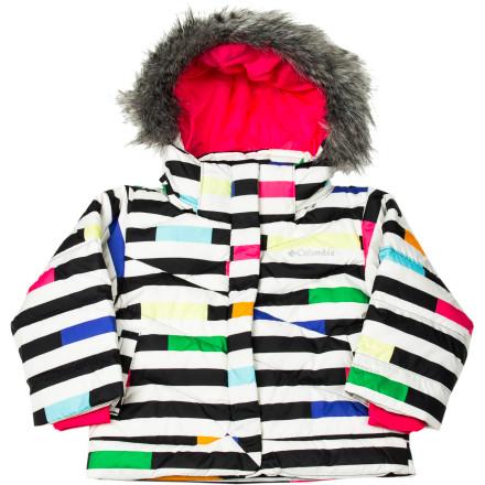 photo: Columbia Girls' Trinity Bomber Jacket down insulated jacket