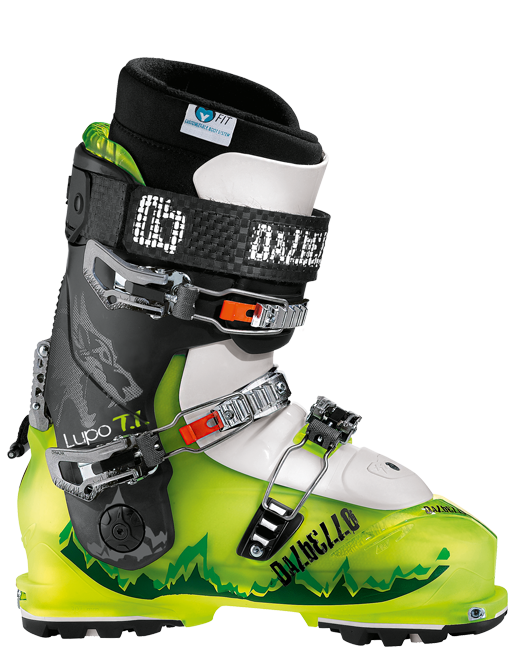 photo: Dalbello Lupo T.I. I.D. alpine touring boot
