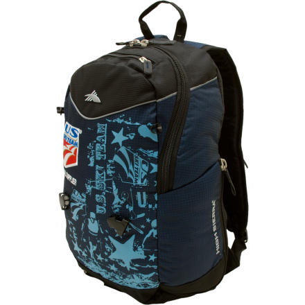photo: High Sierra U.S. Ski Team Backpack winter pack