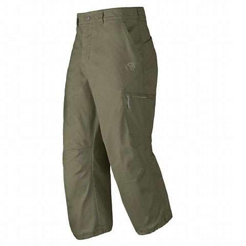 photo: Mountain Hardwear Basin 3/4 Pant climbing pant