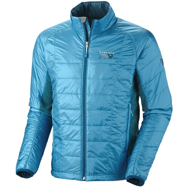 photo: Mountain Hardwear Men's Zonal Jacket synthetic insulated jacket