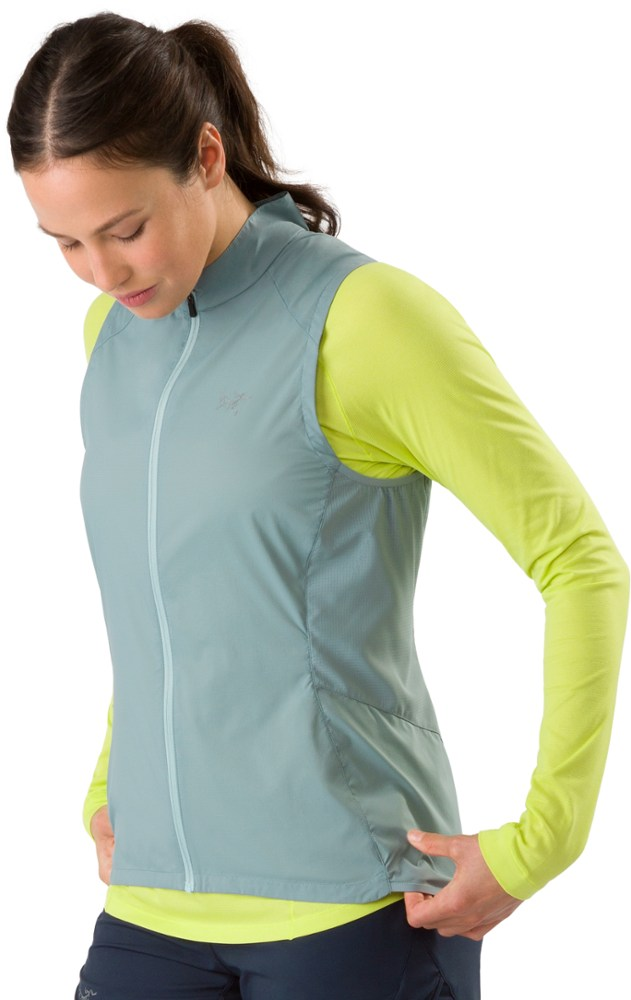 photo: Arc'teryx Cita Vest wind shell vest
