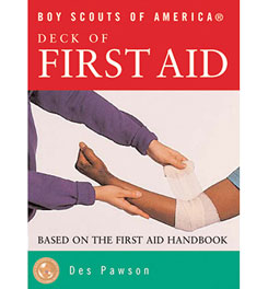 photo of a DK Publishing first aid/safety/survival book