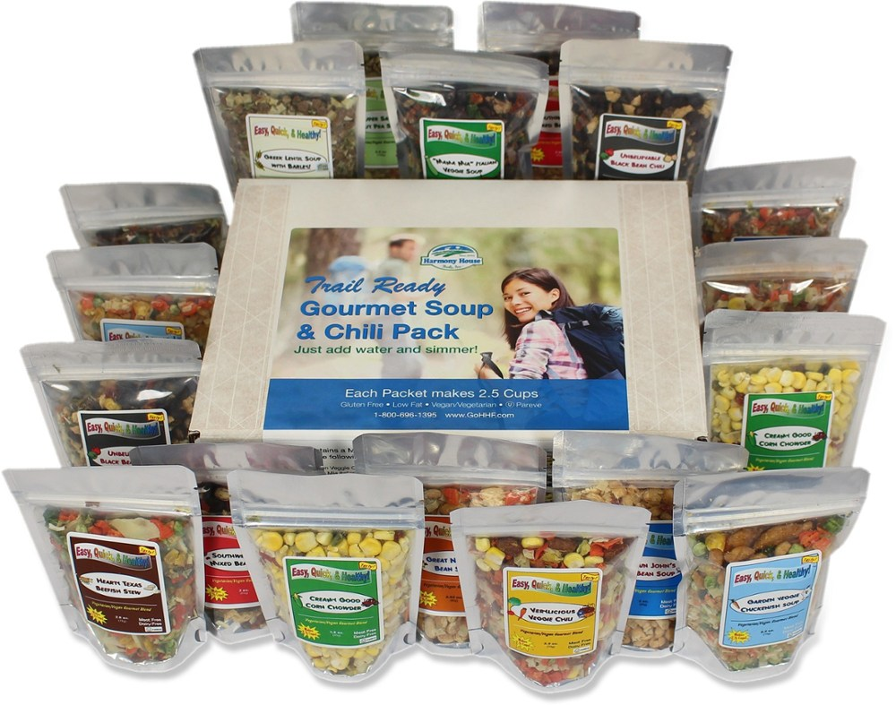 photo: Harmony House Trail Ready Gourmet Soup & Chili Pack soup