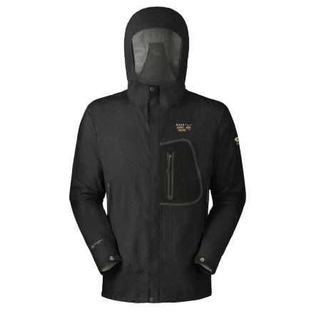 photo: Mountain Hardwear Cohesion Jacket waterproof jacket