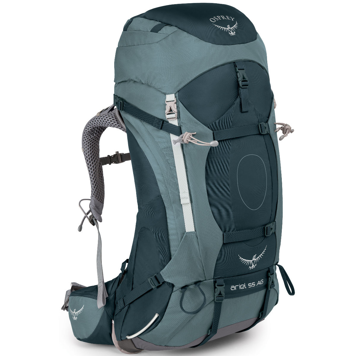 photo: Osprey Ariel AG 55 weekend pack (50-69l)