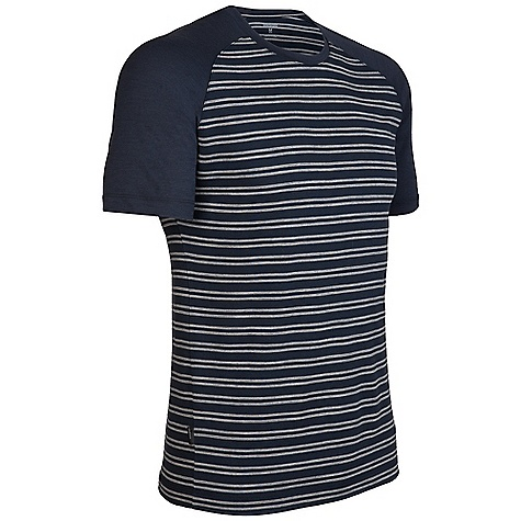 photo: Icebreaker Stripe Hopper hiking shirt