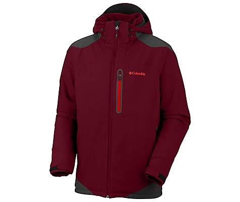 photo: Columbia Extraction Point Jacket soft shell jacket