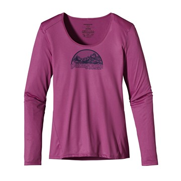 photo: Patagonia Capilene 1 Silkweight Graphic Scoop base layer top