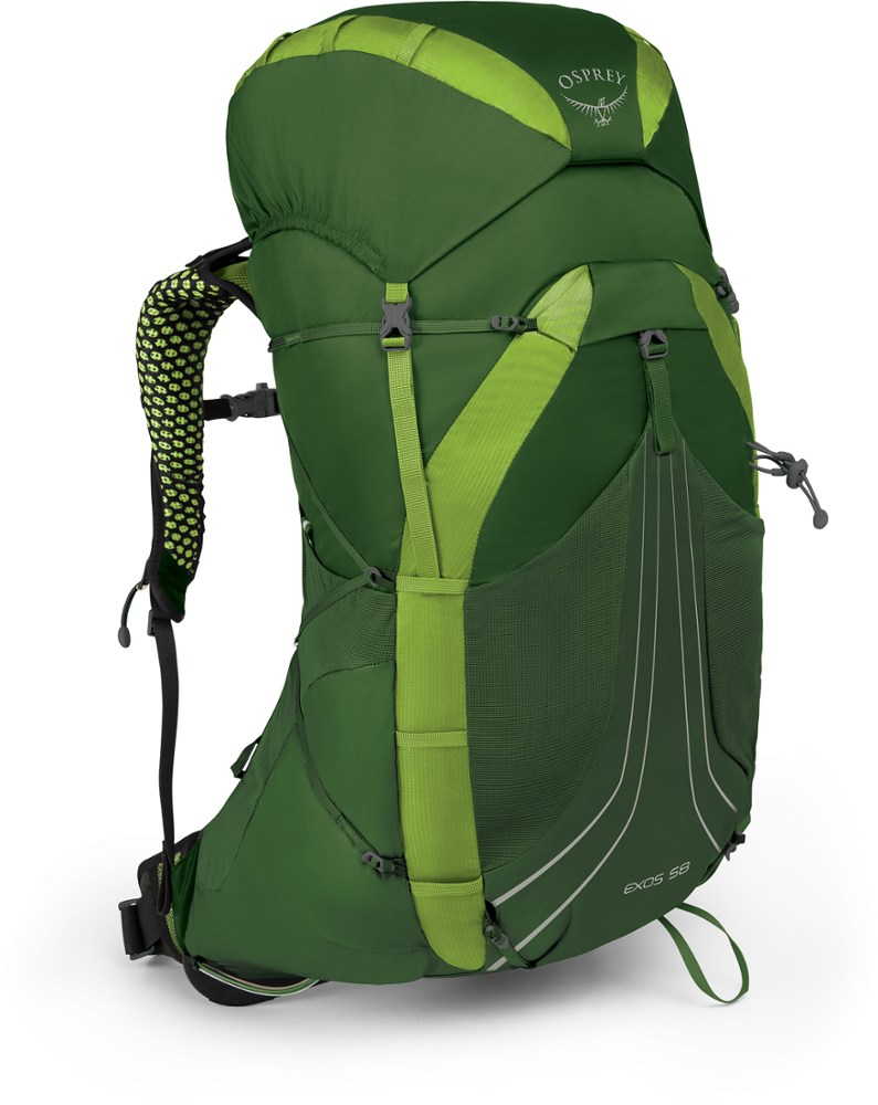 photo: Osprey Exos 58 weekend pack (50-69l)