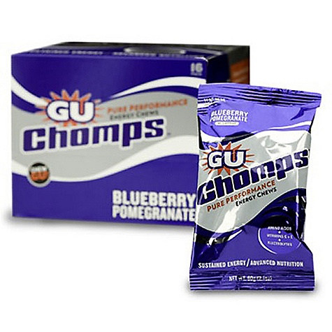 photo: GU Chomps gel/chew