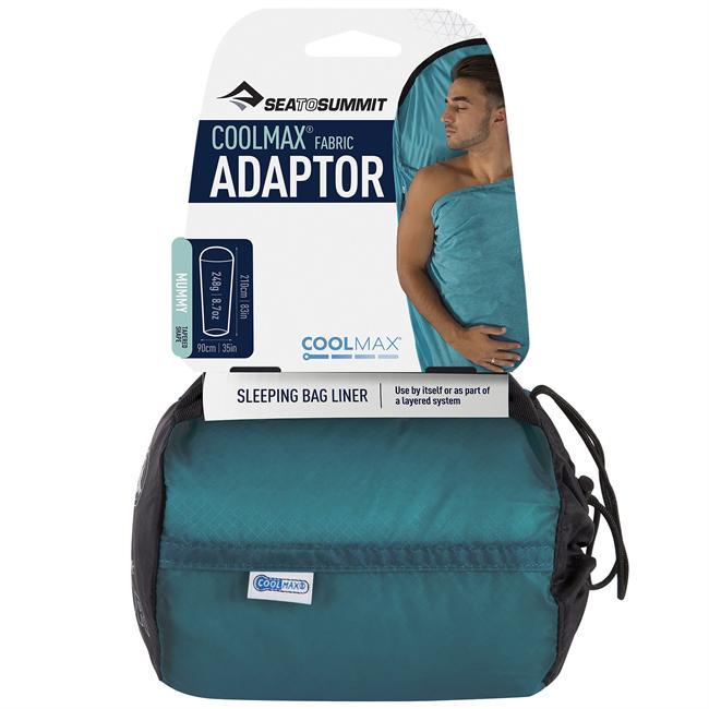 photo: Sea to Summit Adaptor CoolMax Liner sleeping bag liner