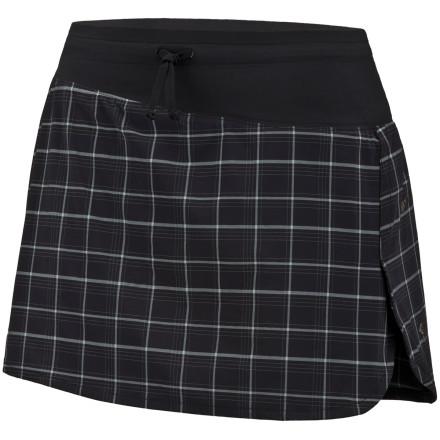 photo: Mountain Hardwear Pacer Advance Skort running skirt