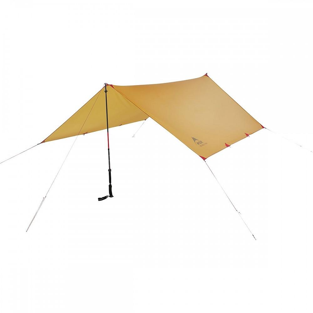 photo: MSR Thru-Hiker 100 Wing tarp/shelter