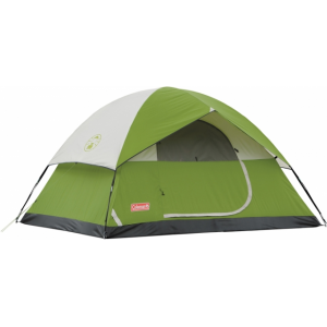 photo: Coleman SunDome 4 Tent 9' x 7' three-season tent
