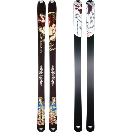photo: Dynafit Mustagh Ata Superlight alpine touring/telemark ski