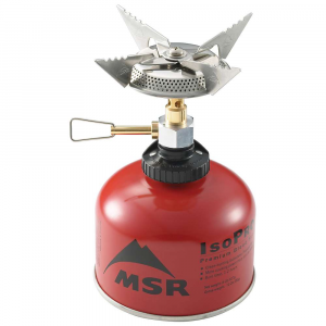 photo: MSR SuperFly compressed fuel canister stove